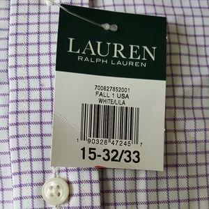Lauren Ralph Lauren Men's Dress Shirt 15-32/33